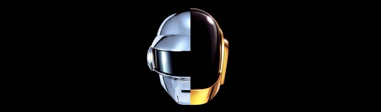 Daft Punk Helmets as of Random Access Memories